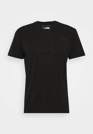 WANDER - Basic T-shirt - black