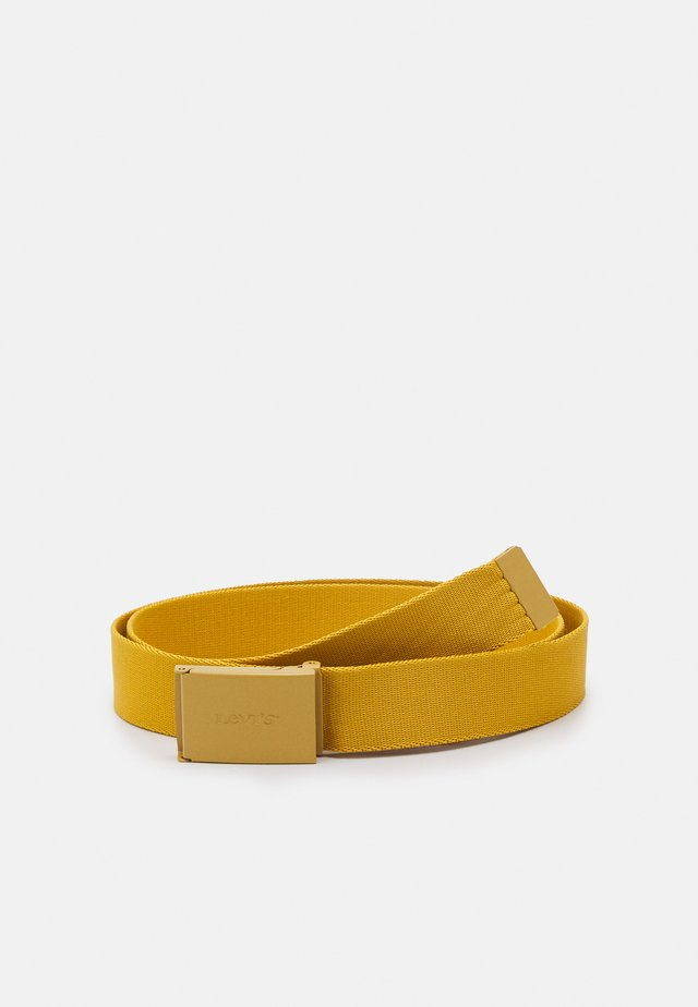 WORDMARK BELT UNISEX - Belt - regular yellow