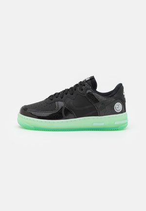 AIR FORCE 1 REACT LV8 AS UNISEX - Matalavartiset tennarit - black/barely green