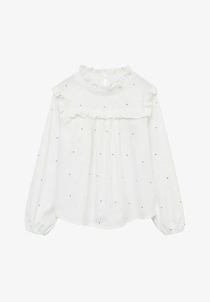 IVONNE - Bluse - bianco sporco