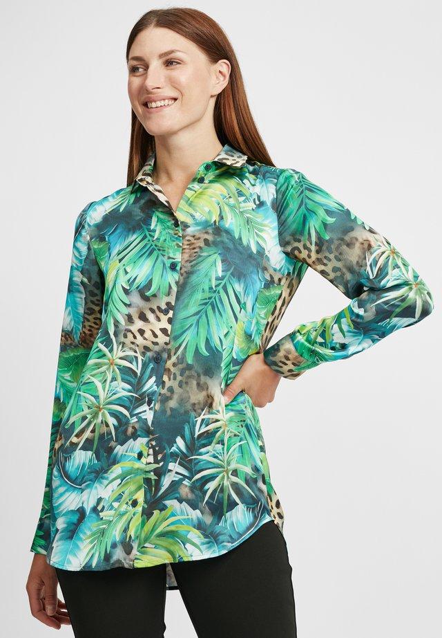 Košile - grün/bleu
