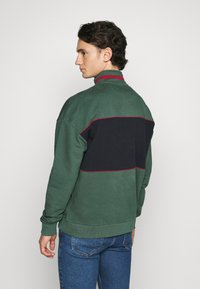 Karl Kani - SIGNATURE BLOCK TROYER - Sweatshirt - green - 2