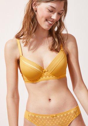 Underwired bra - jaune