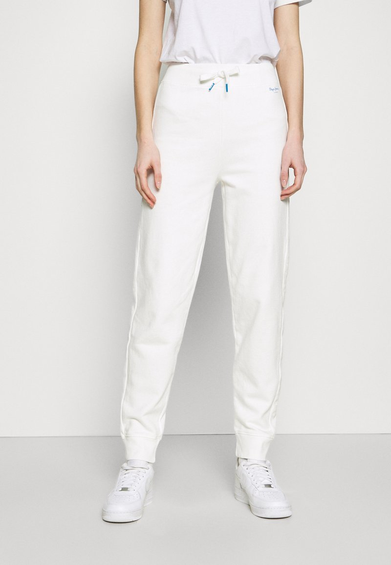 Pepe Jeans - DORI - Tracksuit bottoms - oyster