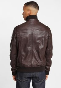 Gipsy - GBFALK  - Leather jacket - dark brown - 2