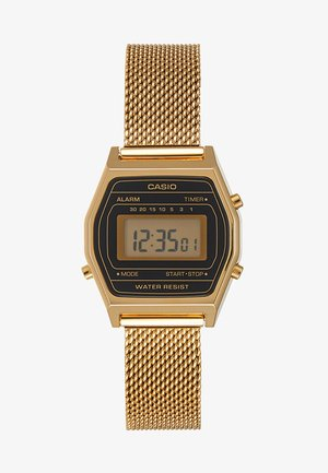 Digital watch - goldfarben/schwarz