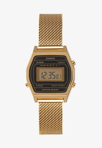 Digital watch - goldfarben/schwarz