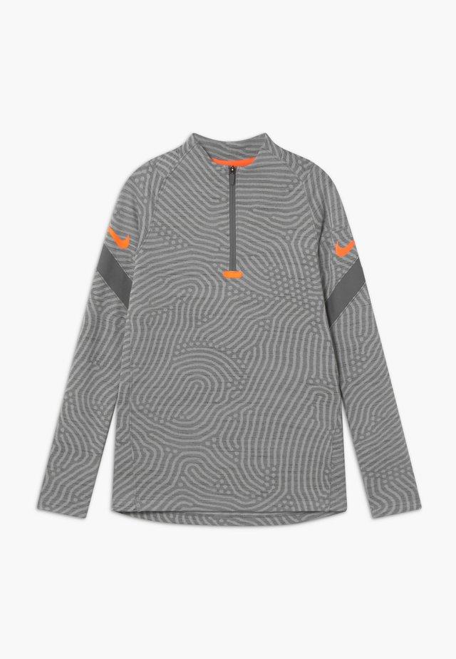 DRY STRIKE - Funktionsshirt - smoke grey/heather/total orange