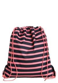Lässig - MINI STRING BAG LITTLE MONSTERS MAD MABLE SPORTBEUTEL - Batoh - pink/blue - 1