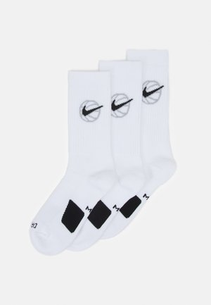 CREW EVERYDAY 3 PACK - Sports socks - white/black