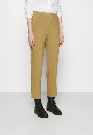 BASIC BUSINESS PANT SLIM LEG - Trousers - camel