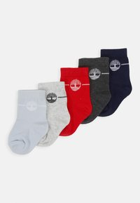 Timberland - LOT DE CHAUSSETTES BABY 5 PACK - Ponožky - light gray china - 0