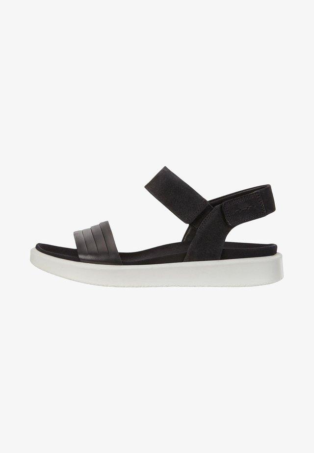 FLOWT W  - Sandals - black/black