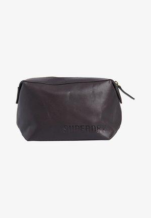VERMONT - Wash bag - dark brown