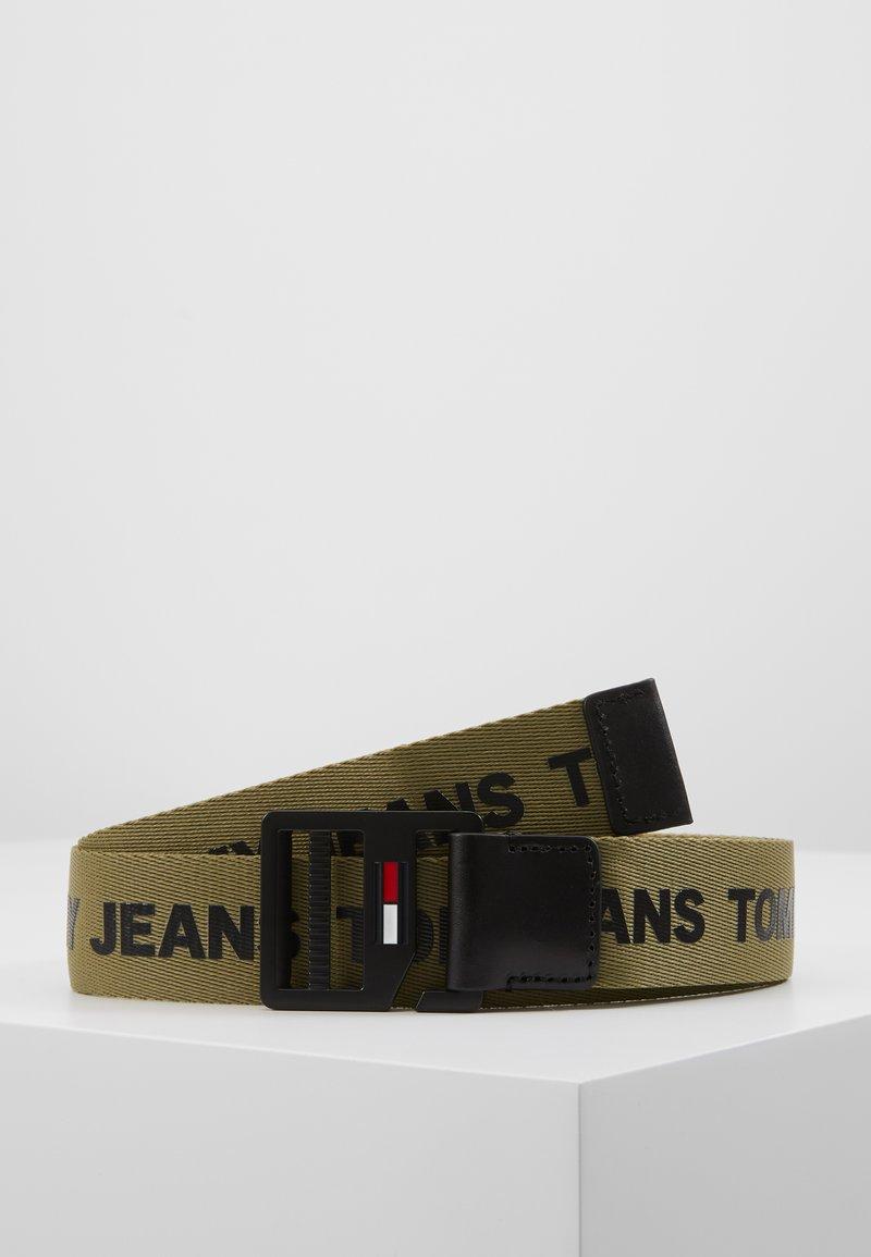 Tommy Jeans - DRING BELT  - Vyö - green