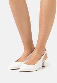 ALDO - PERANGA - Classic heels - white - 0
