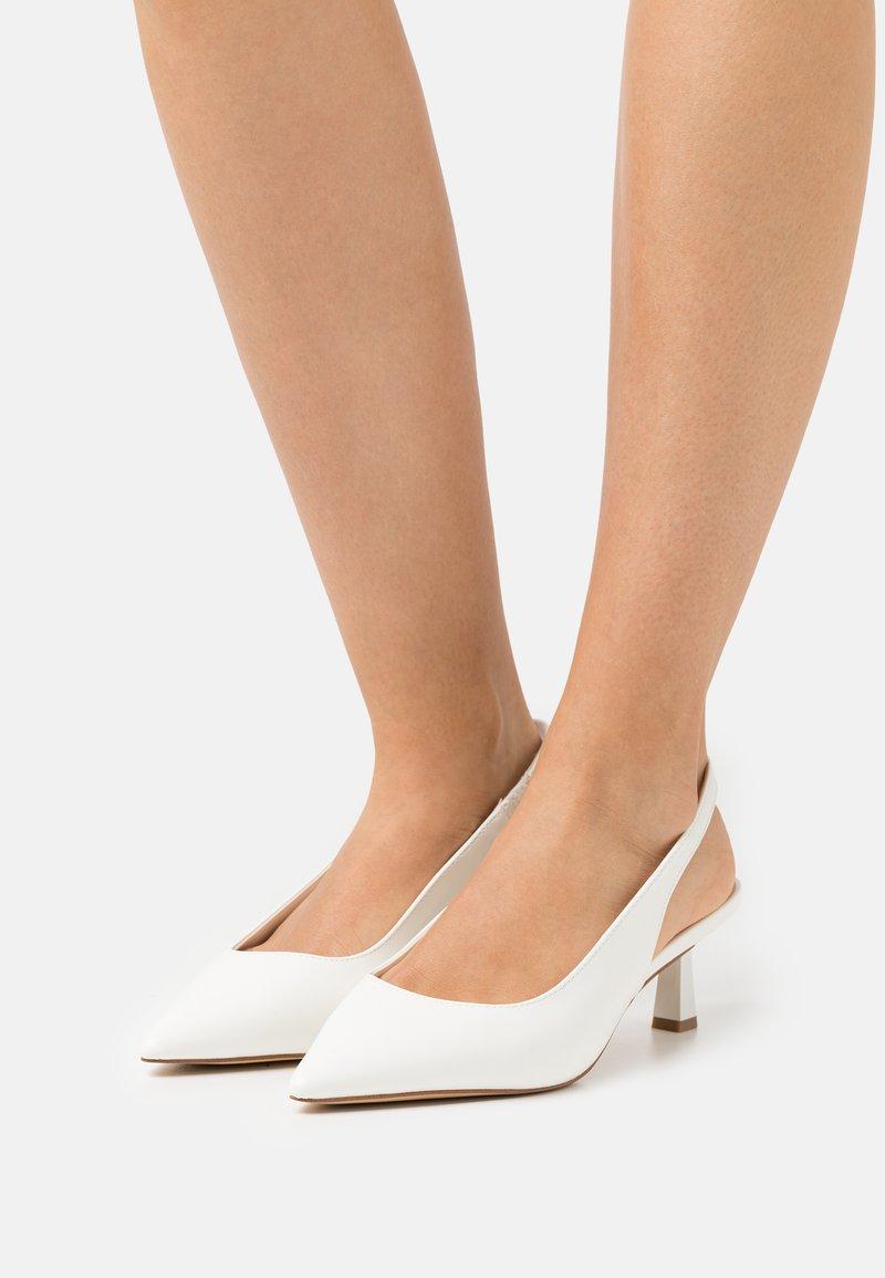ALDO - PERANGA - Classic heels - white