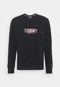 Tommy Jeans - TIMELESS CREW UNISEX - Collegepaita - black - 5