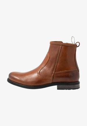 MARSHAL - Classic ankle boots - cognac
