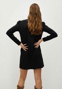 Mango - CAROLINA - Korte jurk - black - 2