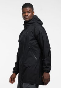 Haglöfs - L.I.M PROOF PARKA - Parka - true black - 2