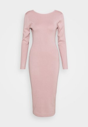 TIE BACK MIDAXI DRESS - Jumper dress - blush