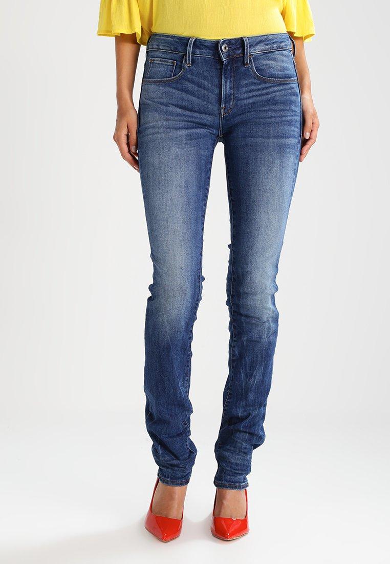 G-Star - 3301 MID STRAIGHT  - Straight leg jeans - elto superstretch