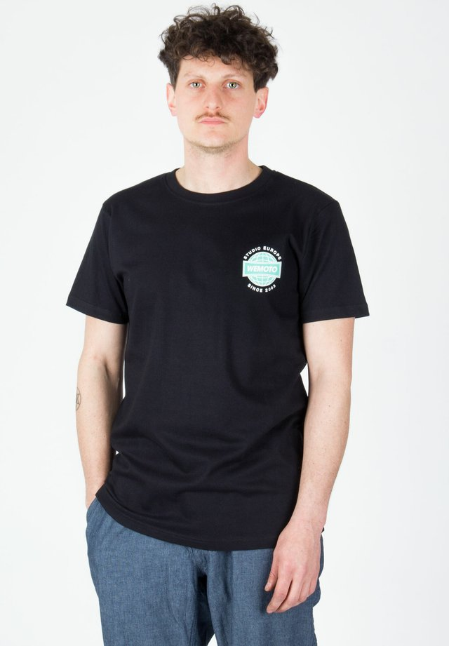 RADIO - Print T-shirt - black