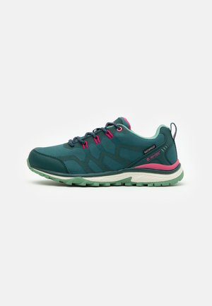STINGER WP WOMENS - Hiking shoes - petrol/neptune/cactus