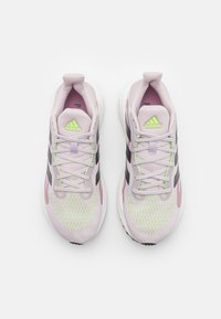 adidas Performance - SOLAR GLIDE 4 - Neutral running shoes - ice purple/grey five/signal green - 3