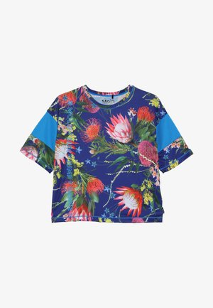 ODESSA - Print T-shirt - blue