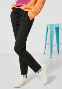 Street One - LOOSE FIT - Trousers - black - 1