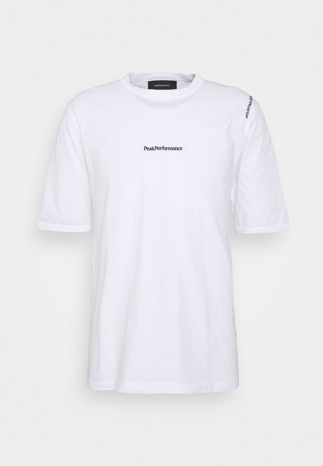 STOWAWAY TEE - T-shirts med print - white