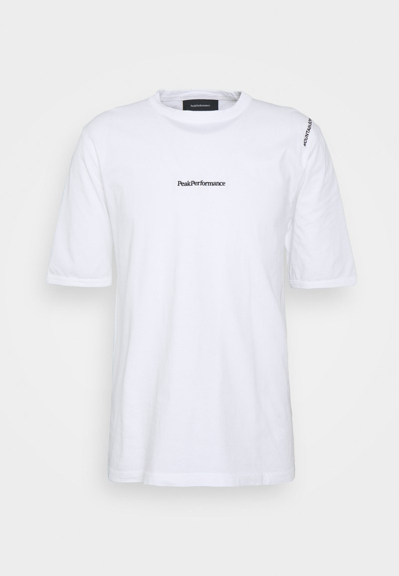Peak Performance - STOWAWAY TEE - Print T-shirt - white