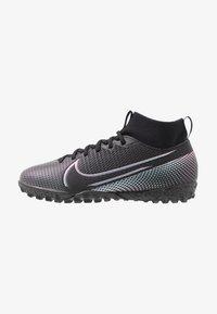 Nike Performance - JR MERCURIAL 7 ACADEMY TF UNISEX - Astro turf trainers - black - 1