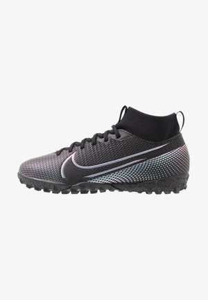 JR MERCURIAL 7 ACADEMY TF UNISEX - Astro turf trainers - black