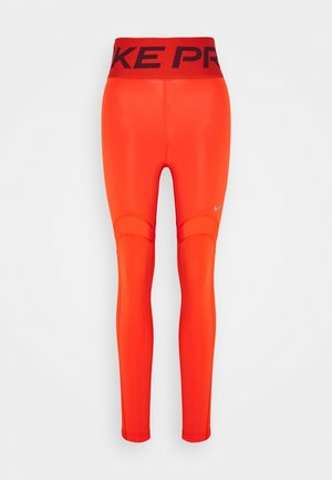 MIRAGE - Leggings - team orange/metallic silver
