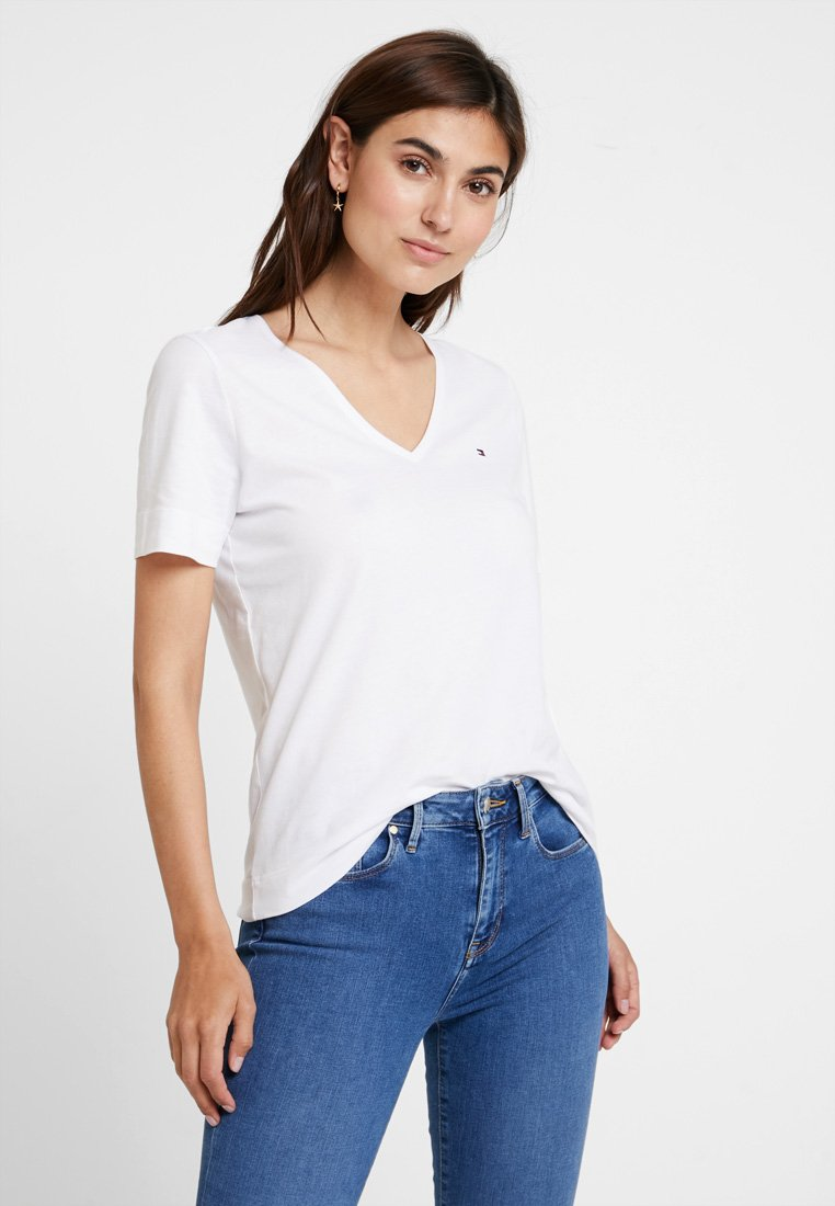 Tommy Hilfiger - NEW LUCY - Basic T-shirt - white