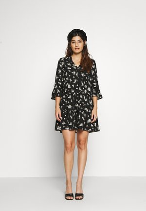 VMSIMPLY EASY SHORT DRESS  - Day dress - black