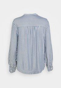 GAP Petite - SHIRRED - Button-down blouse - blue - 6