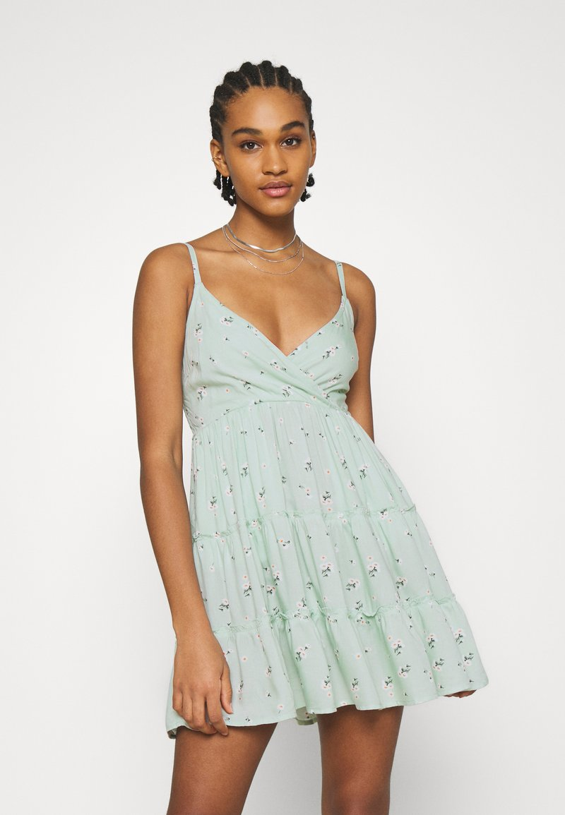 Hollister Co. - BARE FEMME SHORT DRESS - Day dress - mint