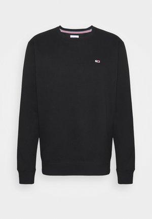 REGULAR C NECK - Bluza - black