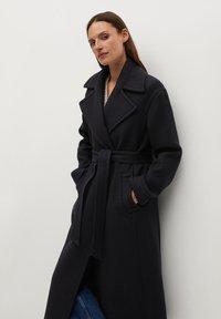 Mango - PAINT - Classic coat - schwarz - 2