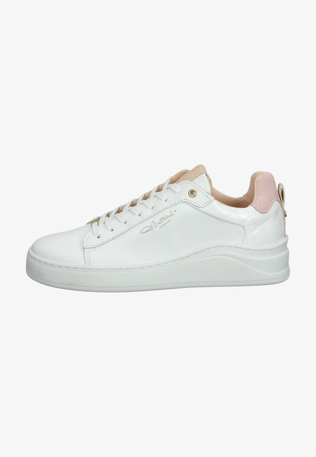 Sneakers laag - white rose