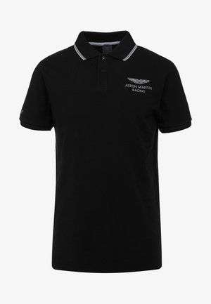 AMR FINE TIP POLO - Polo shirt - black
