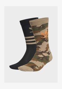 adidas Originals - 2 PACK - Sports socks - beige - 1