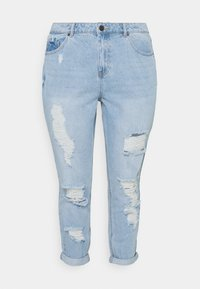 Simply Be - NON STRETCH SUPER MOM - Relaxed fit jeans - stonewash - 6