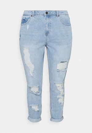 NON STRETCH SUPER MOM - Jeans relaxed fit - stonewash