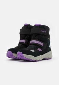 Superfit - CULUSUK 2.0 - Winter boots - schwarz/lila - 1