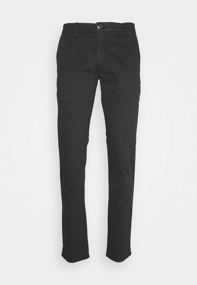 MACARL - Chino kalhoty - black